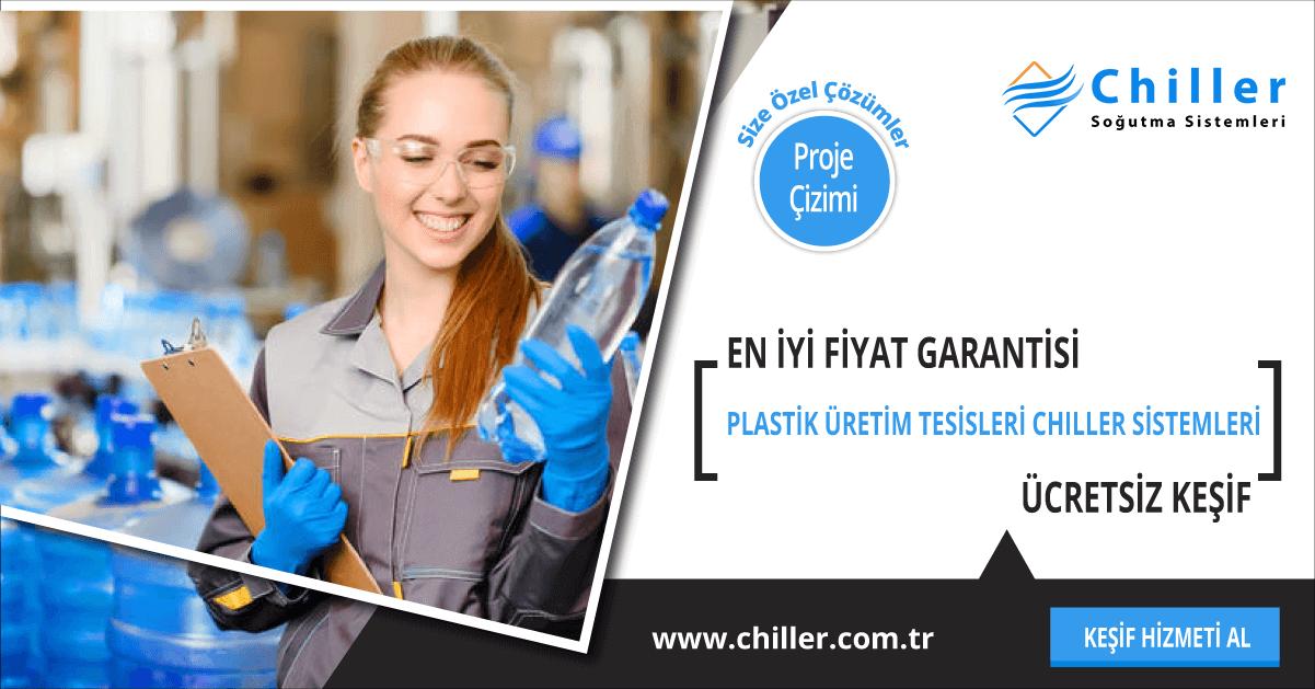 plastik üretim tesisi chiller sistemleri
