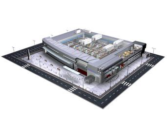 kozmetik imalat tesisi chiller sistemi