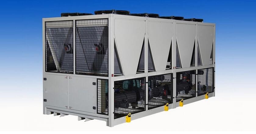 hava soğutmalı chiller sistemi